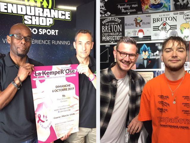 Endurance Shop Quimper Yann et Thierry, Seizh Quimper Arthur et Kostantin.