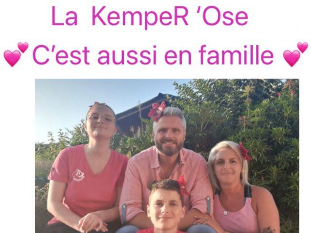 La KempeR'Ose en famille